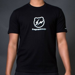 Medicom x Fragment Design Men Be@rtee Logo Tee (black)