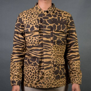 10 Deep Men Grassland Shirt (brown / savannah camo)