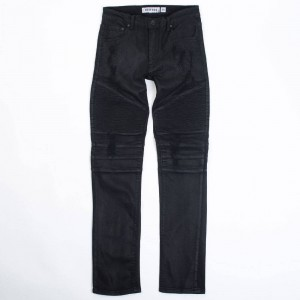 Reason Men Leroy Washed Denim Jeans (black)