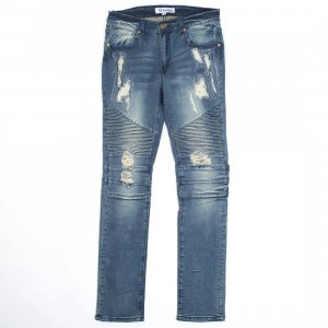 Reason Men Mulberry Moto Denim Jeans (blue)