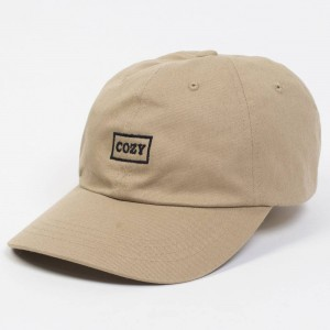Team Cozy Cozy Box Cap (khaki)