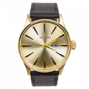 Nixon Sentry Pack Watch (gold / all gold / black / brown)