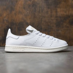 Adidas Men Stan Smith Leather Sock (white / footwear white / clear granite)