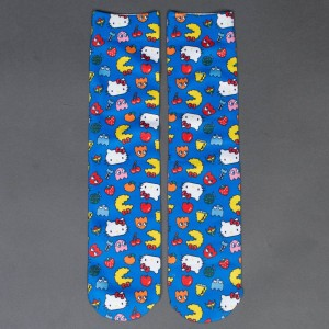 BAIT x Sanrio x Pac-Man Men Hello Kitty Socks (blue)