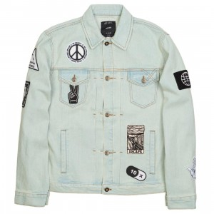 10 Deep Men Bad Acid Denim Jacket (blue)