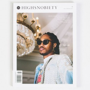 Highsnobiety Magazine Issue 15- Future (white / print)