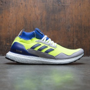 Adidas Men UltraBOOST Mid Proto (yellow / solar yellow / hi-res blue / white)