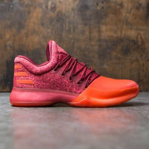 Adidas Men Harden Vol. 1 (burgundy / scarlet / energy)