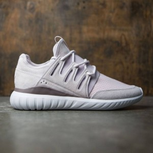 Adidas Men Tubular Radial (purple / ice purple / vintage white / tech earth)