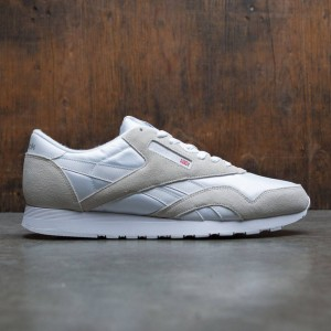 Reebok Men Classic Nylon (white / light grey)