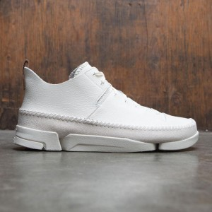 Clarks Men Trigenic Flex (white / white nubuck)