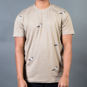 Staple Men All Over Pigeon Tee (gray / heather)