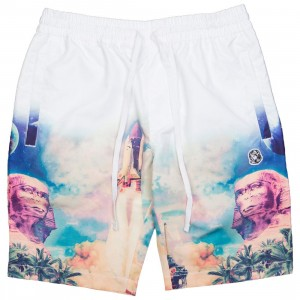 Billionaire Boys Club Men Mirage Shorts (white / bleach)
