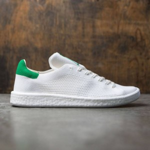 Adidas Men Stan Smith Boost Primeknit (white / footwear white / green)