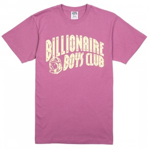 Billionaire Boys Club Men Arch Tee (burgundy / bordeaux)