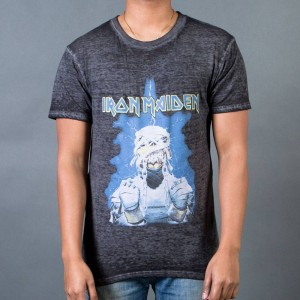 Eleven Paris Men Iron Maiden M3 Burnout Tee (black)