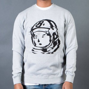 Billionaire Boys Club Men BB Static Crew Sweater (gray / heather)