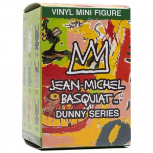 Kidrobot Basquiat 3 Inch Dunny Mini Series Figure - 1 Blind Box
