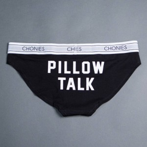 Chonies Women Pillow Talk Classic Brief (black)