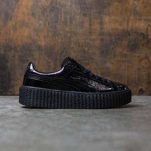 Puma x Fenty By Rihanna Women Creeper - Cracked Leather (black)