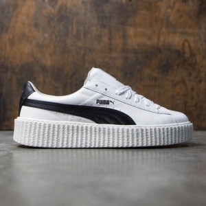Puma x Fenty By Rihanna Men Creeper - Cracked Leather (white)