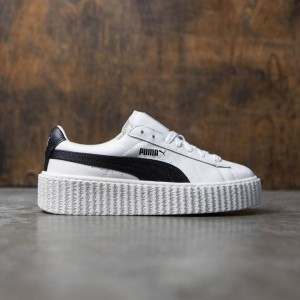 Puma x Fenty By Rihanna Women Creeper -  Cracked Leather (white)