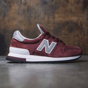 New Balance Men 995 M995CHBG - Made In USA (burgundy / grey)