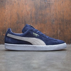 Puma Men Suede Classic+ (navy / peacock / white)