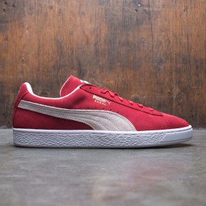 Puma Men Suede Classic (red / high risk red / white)