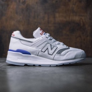 New Balance Men 997 Baseball M997CHP - Made In USA (white / blue)