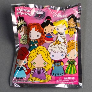 Monogram Disney 3D Foam Key Ring Series 7 - 1 Blind Box