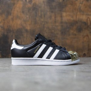 Adidas Women Superstar 80s Metal Toe (black / footwear white / gold metallic)