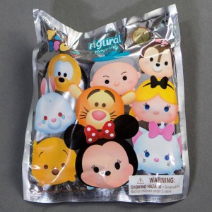 Monogram Disney Tsum Tsum 3D Foam Key Ring Series 1 - 1 Blind Box