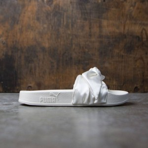 Puma x Fenty By Rihanna Women Bow Slides (white / silver)