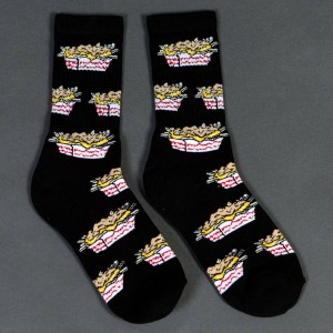40s and Shorties Carnivore Fries Socks (black) 1S