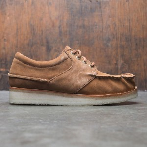 Clarks Men Wallace Suede (brown / cola suede)