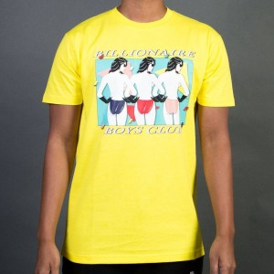 Billionaire Boys Club Men Optional Tee (yellow)