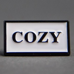 Team Cozy Cozy Box Pin (black)