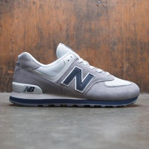 New Balance Men 574 Core Plus ML574ESD (gray / gunmetal / navy)