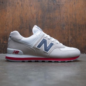 New Balance Men 574 Core Plus ML574ESA (gray / nimbus cloud / navy)
