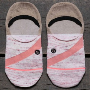 Stance Women Pink Stripe Socks (pink)