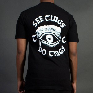 Team Cozy Men See Tings Tee (black)