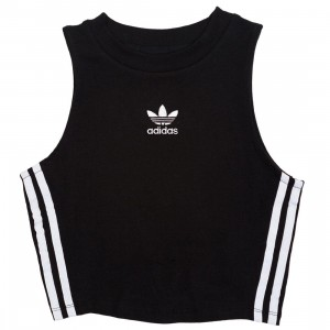 Adidas Women Crop Top Tank (black)