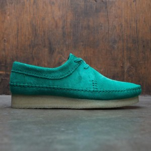 Clarks Men Weaver Suede (green / emerald)