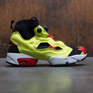 Reebok Men InstaPump Fury OG Ultraknit (black / hypergreen / rbk red / white)