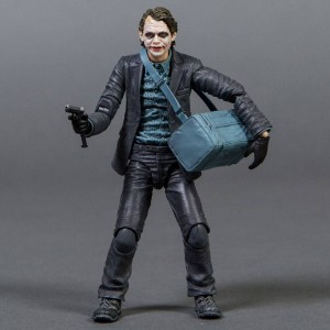 Medicom Batman The Dark Knight Joker PX Maf Ex Action Figure - Bank Robber Version (gray)