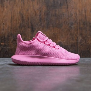 Adidas Big Kids Tubular Shadow Knit J (pink / easy pink / footwear white)