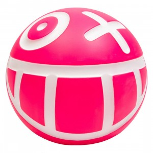 Medicom VCD Andre Saraiva Mr. A Ball Pink Figure (pink / white)