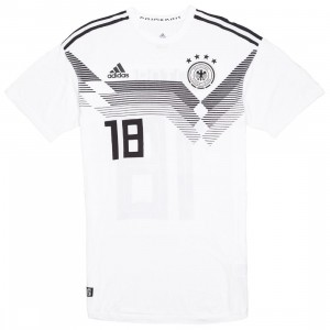 Adidas Men Germany DFB 18 Home Jersey (white)