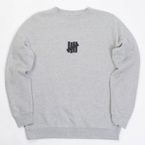 Undefeated Men Center Strike Sweater (gray / heather)